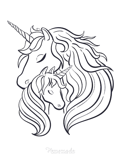 Adult Coloring Page Unicorn : adult, coloring, unicorn, Magical, Unicorn, Coloring, Pages, Adults, Printables