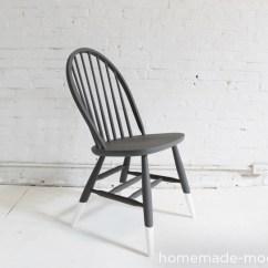 Diy Painted Windsor Chairs Vintage Wood Office Chair Homemade Modern Ep5 Dip Dye Option