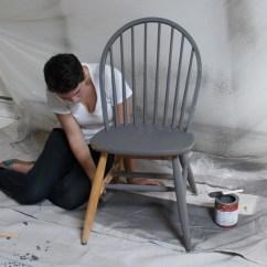 Diy Painted Windsor Chairs Breezesta Adirondack Homemade Modern Ep5 Dip Dye Chair Step 2