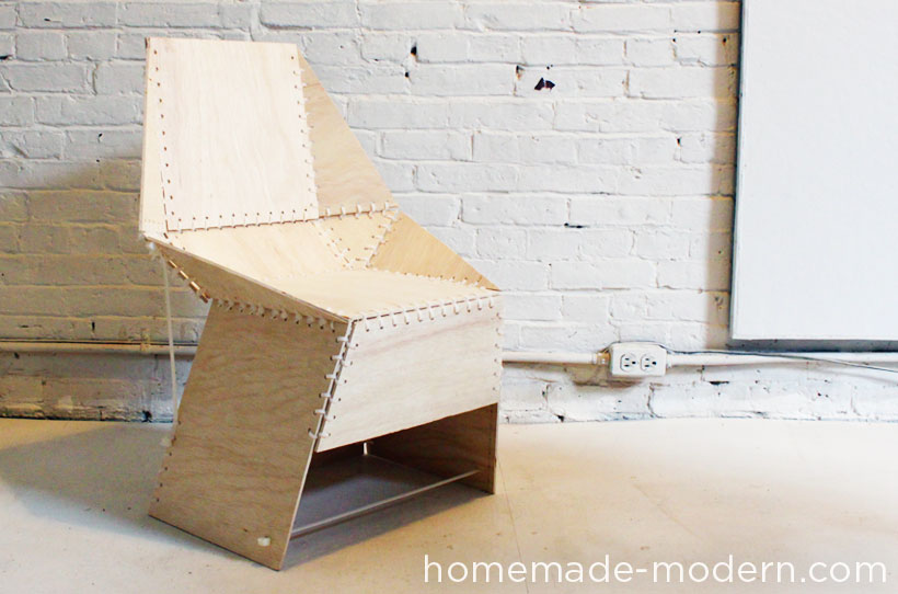 EP21 The ZipStich Chair  HomeMade Modern