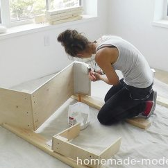 How To Make Kitchen Cabinets High Chairs Homemade Modern Ep86 This Entire Diy Project Cost Less Than 3500 For Everything Including Appliances There Are
