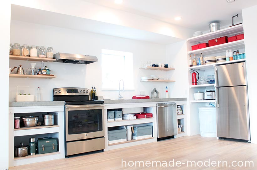 HomeMade Modern EP88 Kitchen Shelves