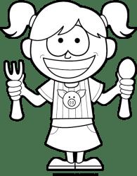 bbq clipart hungry preschool