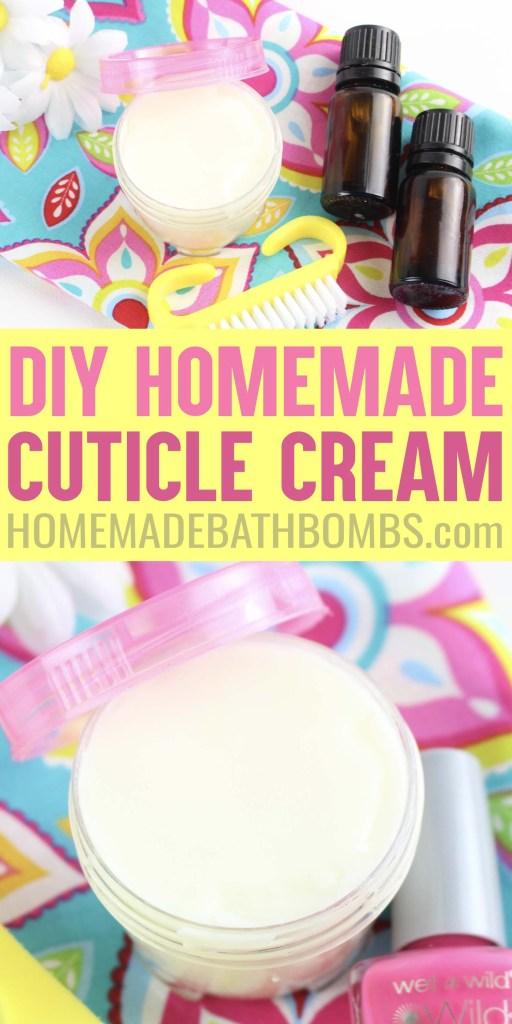 Homemade DIY Cuticle Cream