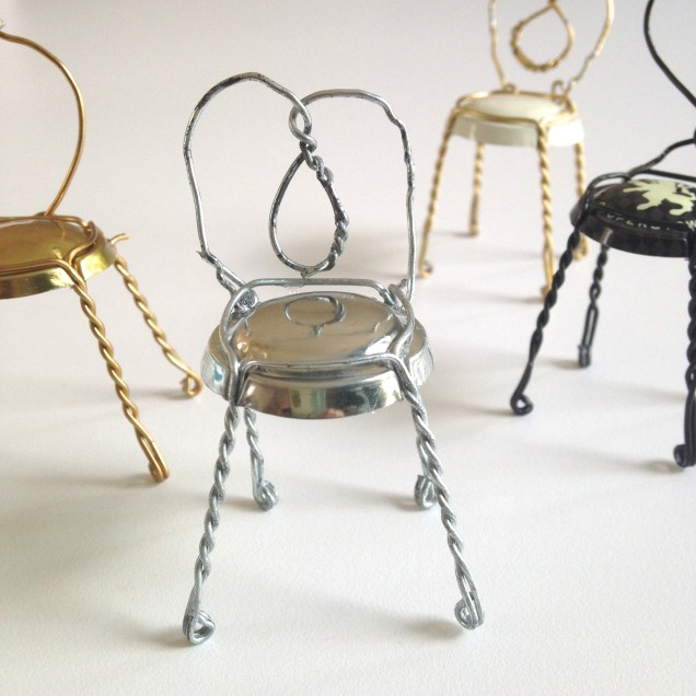 Mini Cafe Chairs by homemadecity.com
