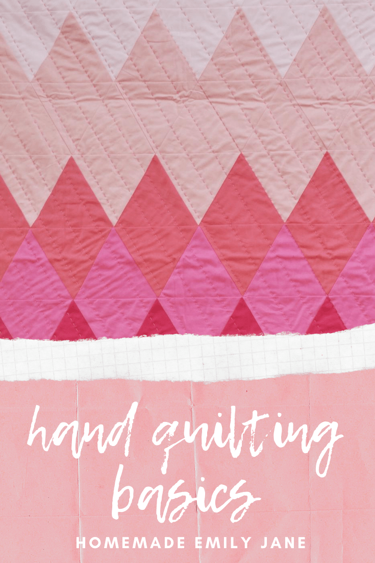 Hand Quilting Stitch Patterns : quilting, stitch, patterns, Steps, Quilting, Homemade, Emily