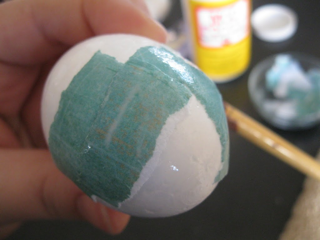 Decoupage Egg Tutorial