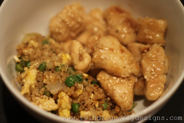 Asian Fried Quinoa