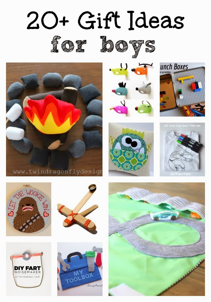 20+ DIY Gift Ideas for Boys