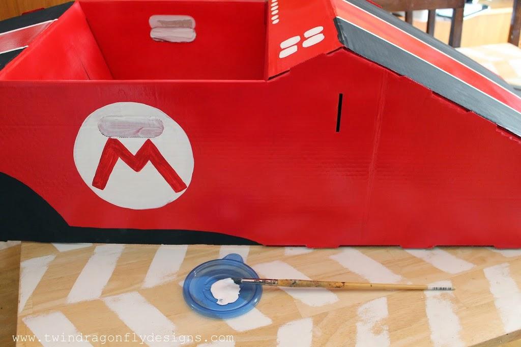 Mario and Luigi Go Kart Costumes Halloween Blog Hop