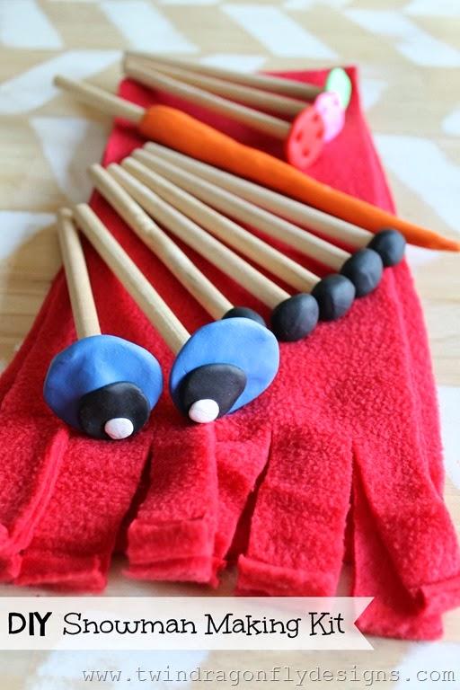 DIY Snowman Making Kit