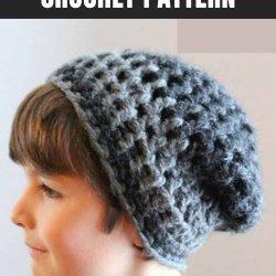 slouchie beanie crochet pattern