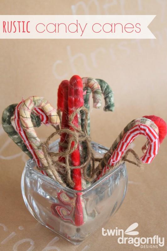 DIY Rustic Candy Canes
