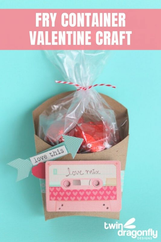 Valentine Fry Container Craft