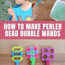 how to make perler bead bubble wands