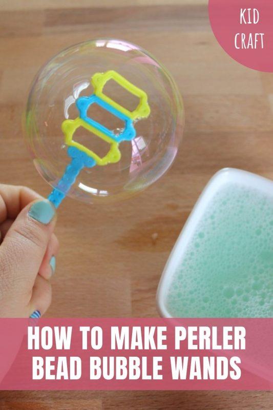 make perler bead bubble wands