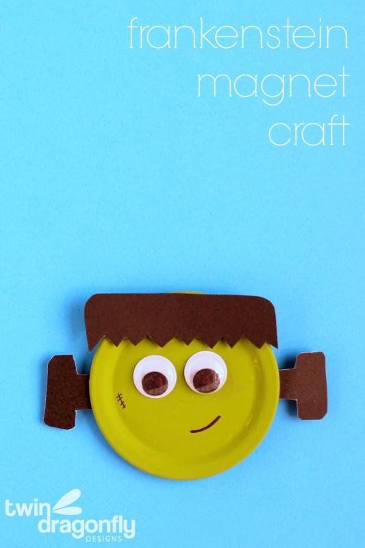 Frankenstein Magnet Craft