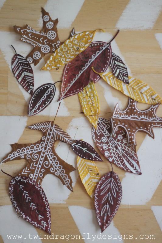 Painted Leaves
