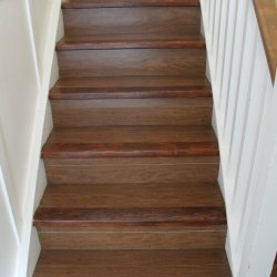 How to refinish wooden stairs