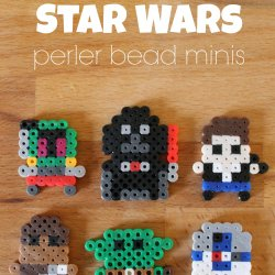 Star Wars Perler Bead Minis