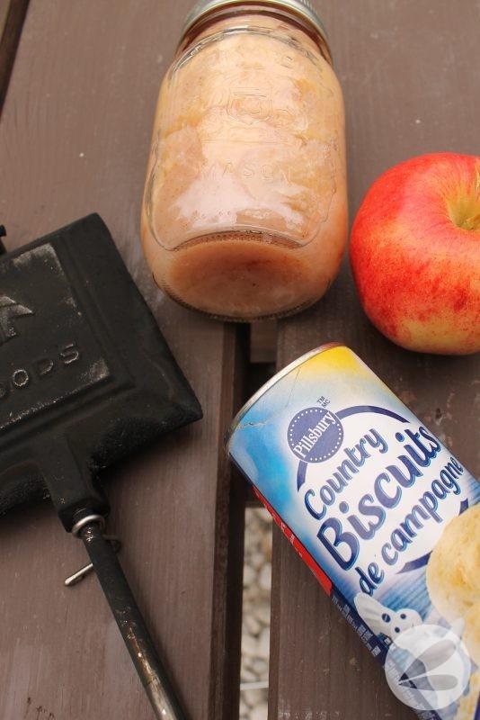 Pie Iron Apple Turnover