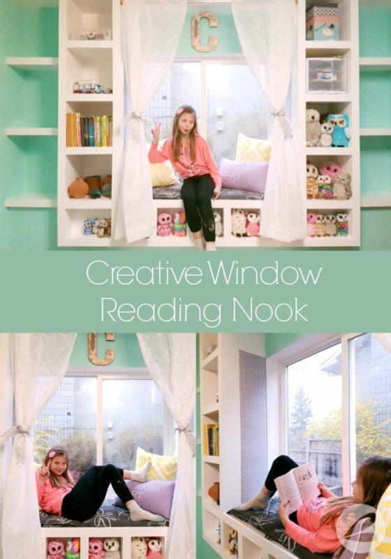 Creative Window Reading Nook