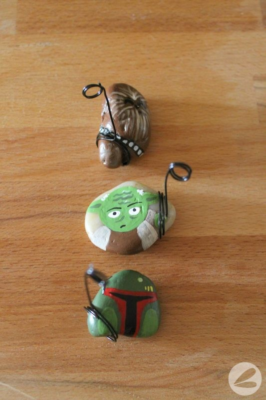 Star Wars Rock Photo Holders