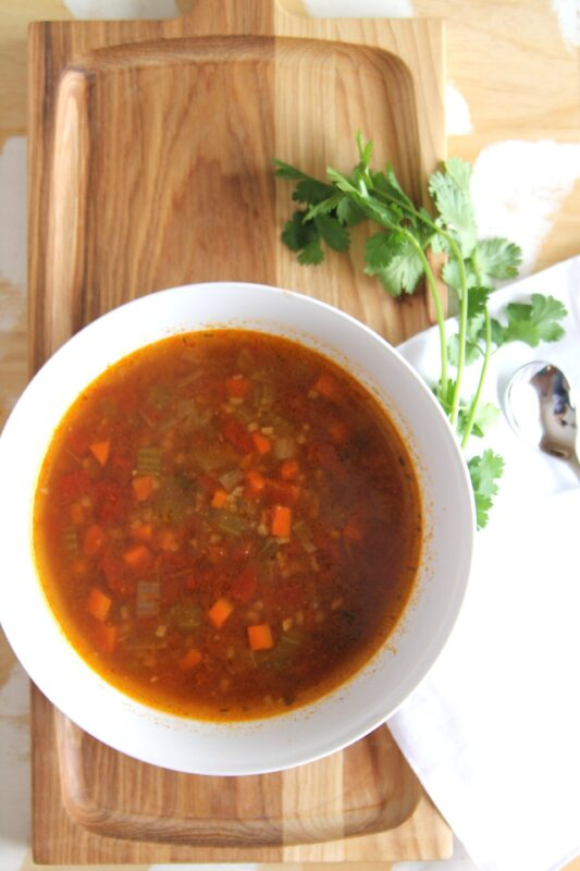 Low Carb Hamburger Soup