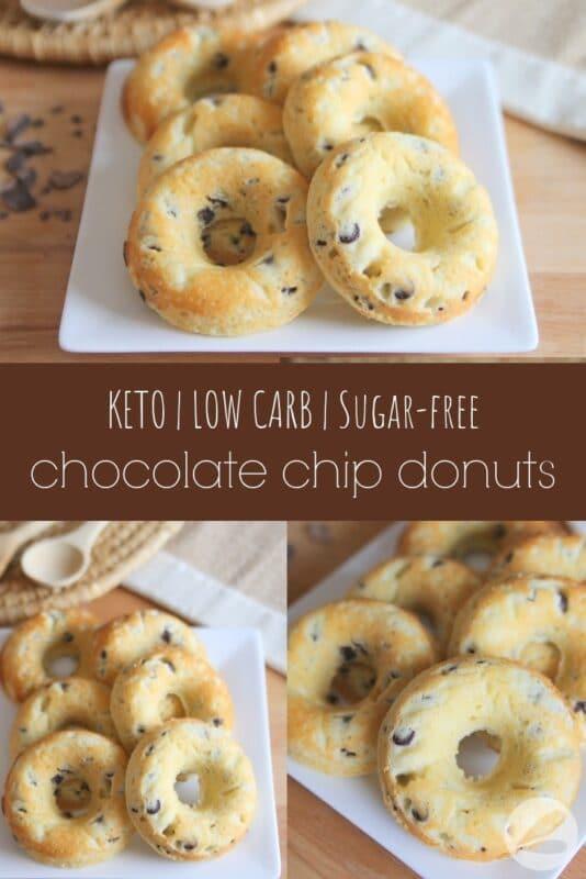 Keto Chocolate Chip Donut Recipe