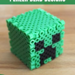 d minecraft perler bead designs