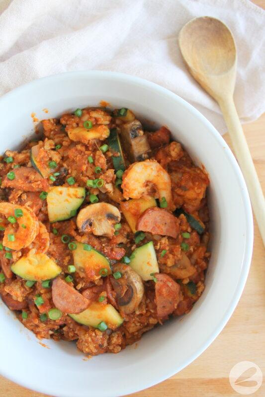 easy jambalaya keto recipe