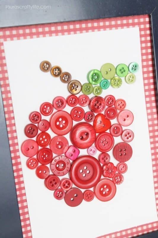 back to school button art lauras crafty life