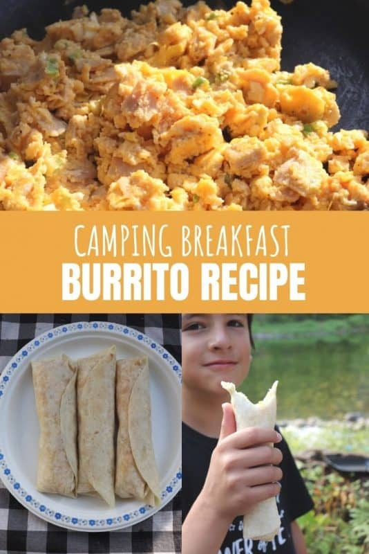 camping breakfast burrito recipe