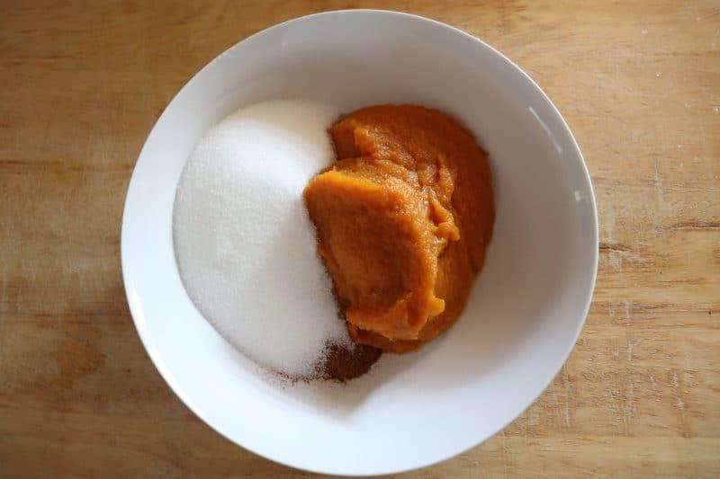 keto pumpkin tarts
