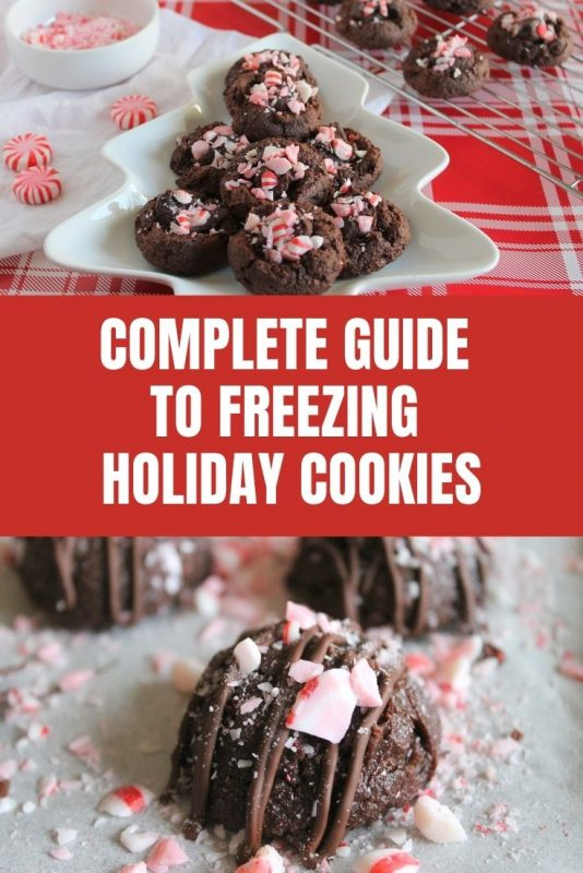 guide to freezing holiday cookies