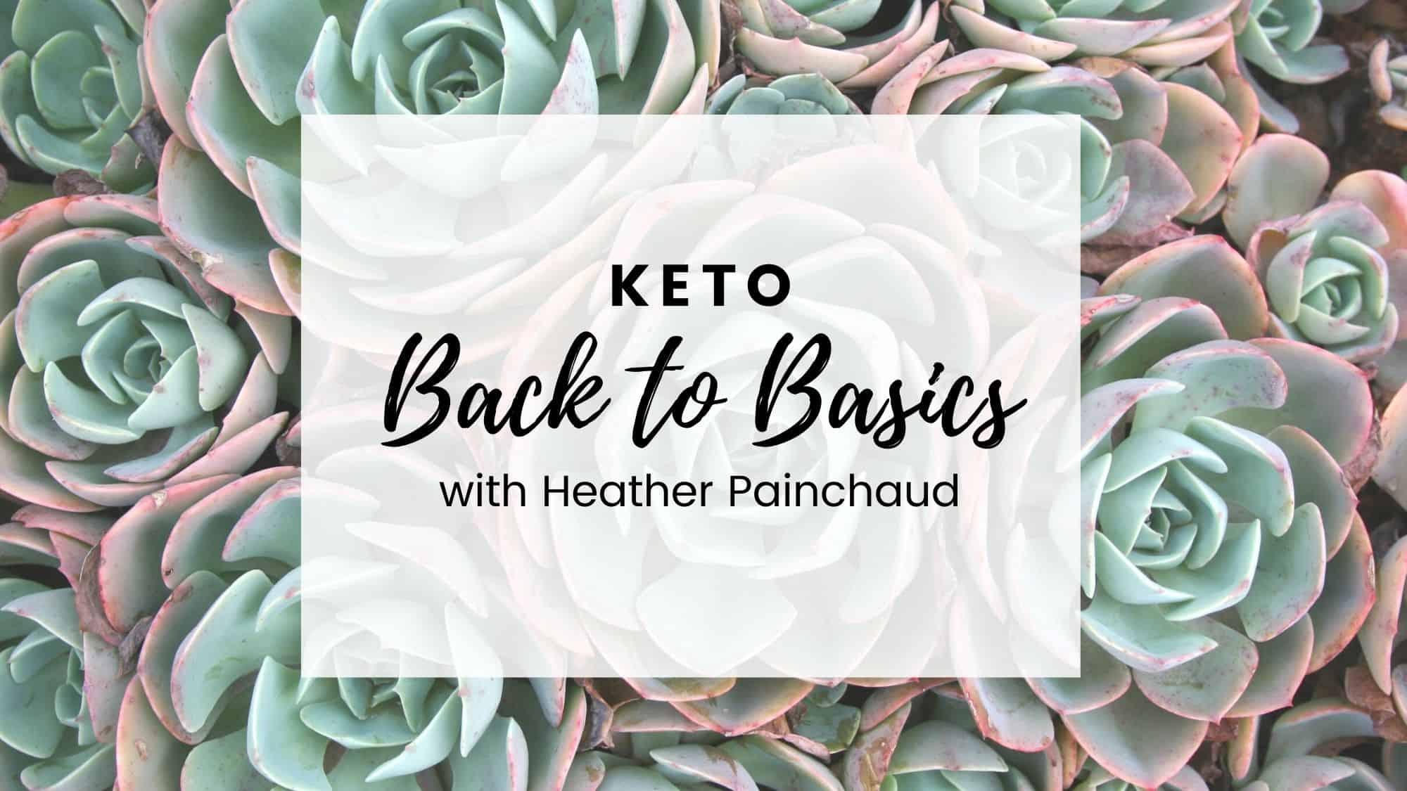 keto back to basics course