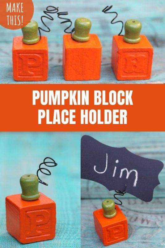pumpkin block place holder