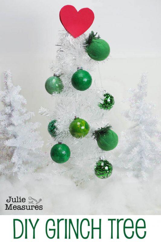 diy grinch tree ornaments