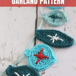 free crochet garland pattern