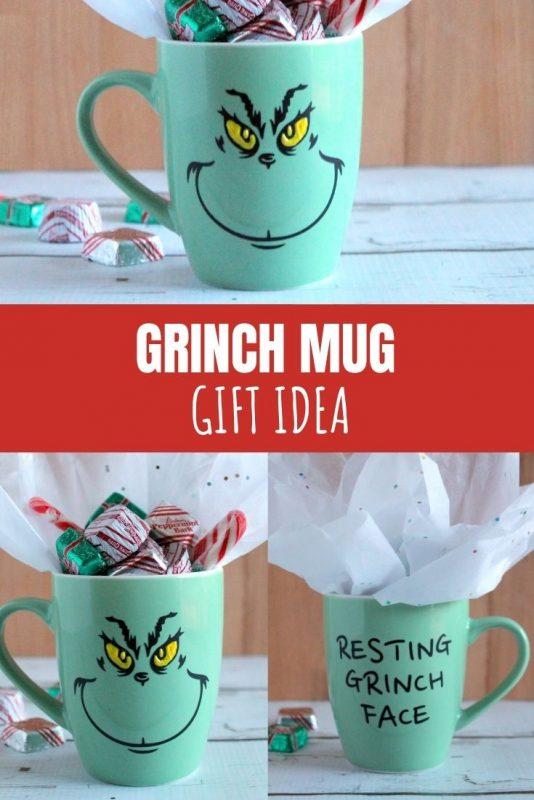 grinch mug gift
