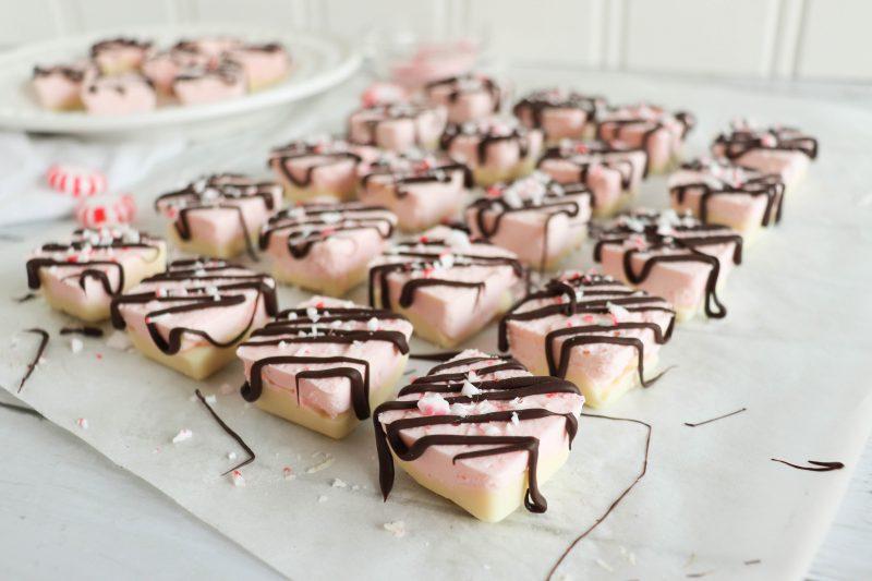keto peppermint cheesecake bites
