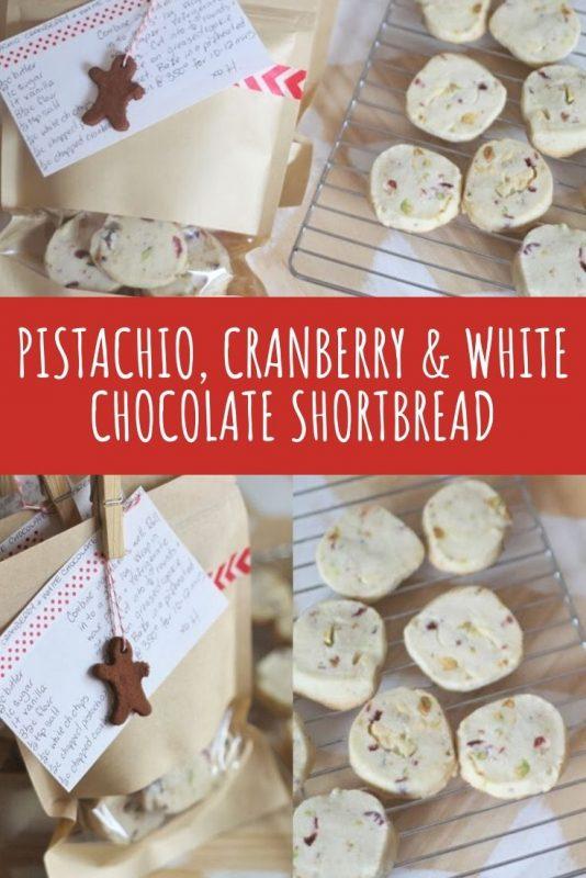pistachio cranberry white chocolate shortbread recipe