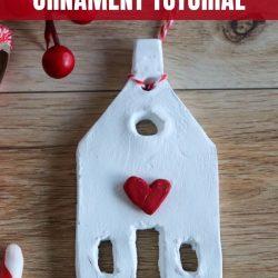 clay farmhouse ornament tutorial