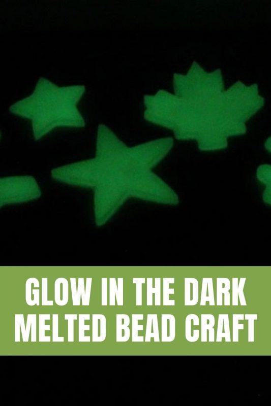 glow in the dark bead craft