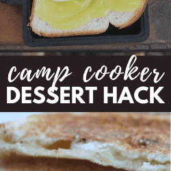 camp cooker dessert hack