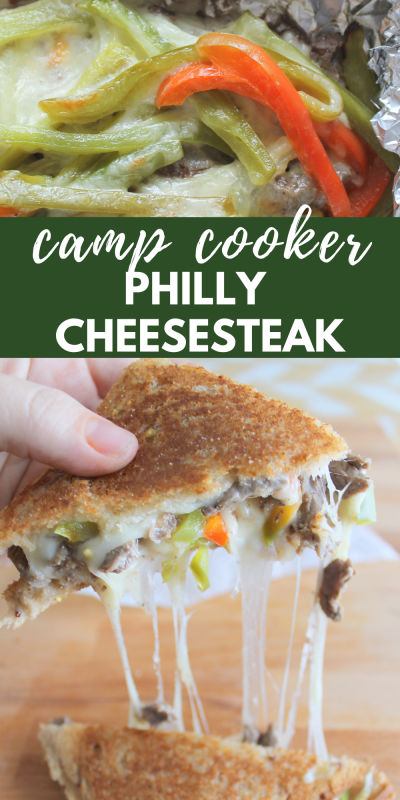 camp cooker philly cheesecake