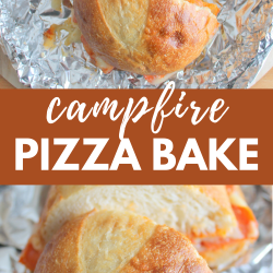 campfire pizza bake