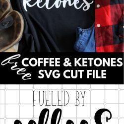 coffee ketones svg