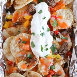 foil packet nacho recipe