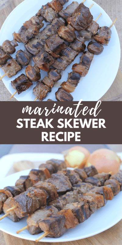 marinated steak skewer recipe